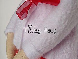 Мастер-класс по созданию беременной куклы в стиле Тильда. Часть 1 - шьем тельце, вышиваем глазки. | Ярмарка Мастеров - ручная работа, handmade