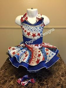National Pageant Patriotic Wear Outfit Of Choice Casual Wear  Size 18mos-3t  | eBay