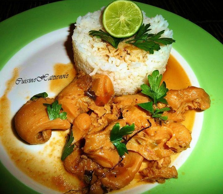 Lambi a la creole (conch) conque
