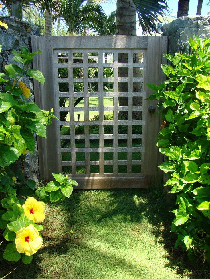 42 best outdoor diy images on pinterest garden ideas for Simple garden gate designs