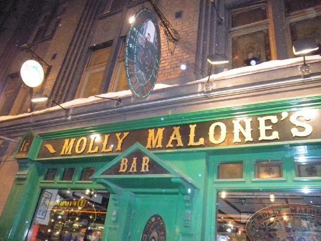 irish bar Molly Malone's - Helsinki