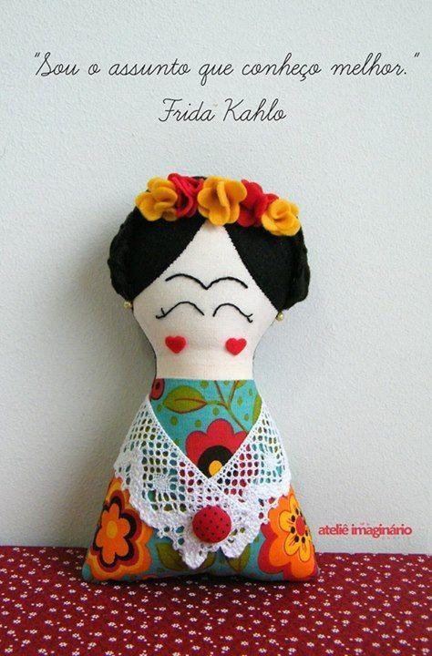 boneca frida: