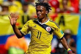 Resultado de imagen para jugadores colombianos fútbol