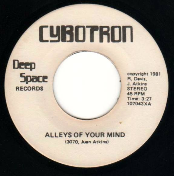 Alleys of Your Mind by Cybotron - The first Detroit Techno Track?