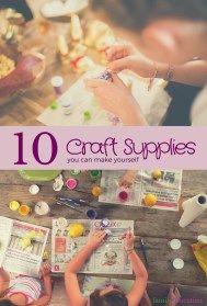 Homemade Craft Supplies - FamilyEducation.com