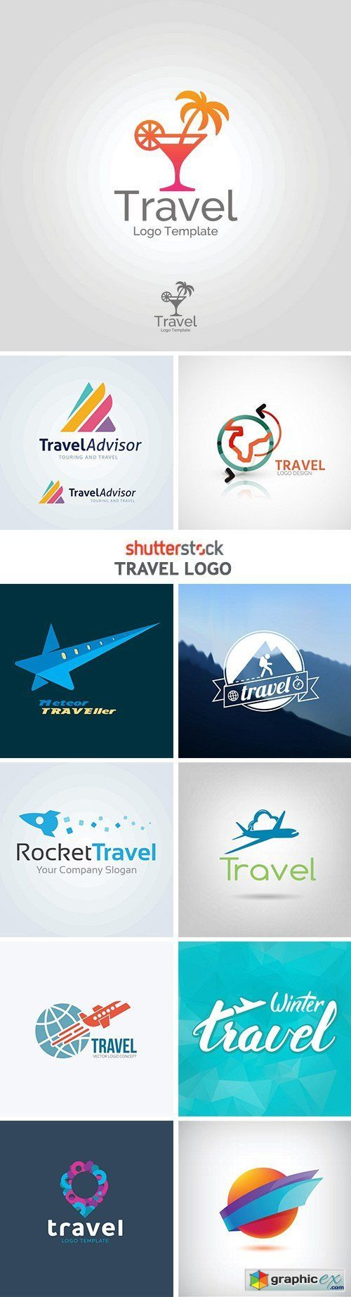 Travel Logo - 25xEPS