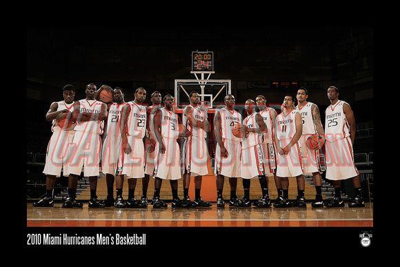 Basketball teamfoto
