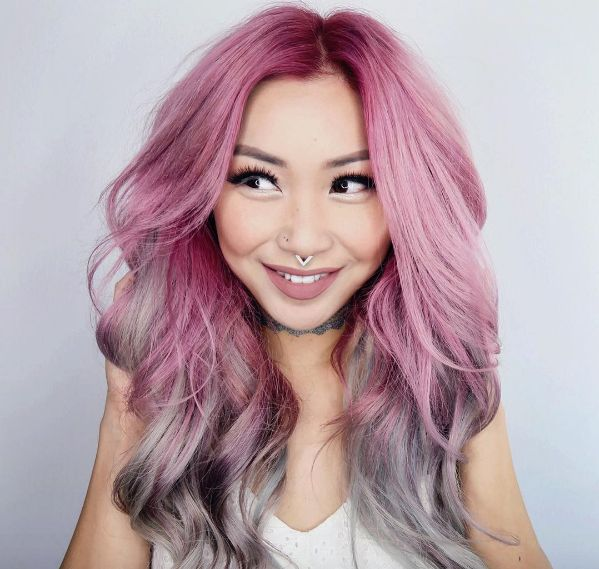 different styles of hair coloring 101 different ways to wear pink hair major hair envy 6415