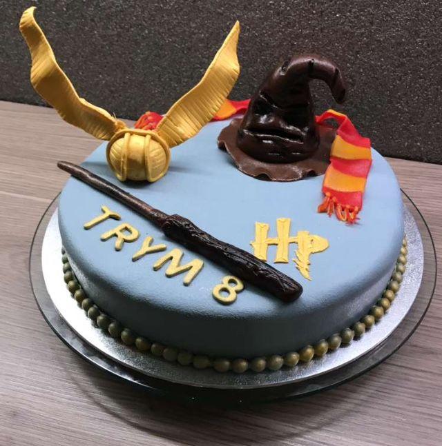Harry Potter kake til Trym 8år