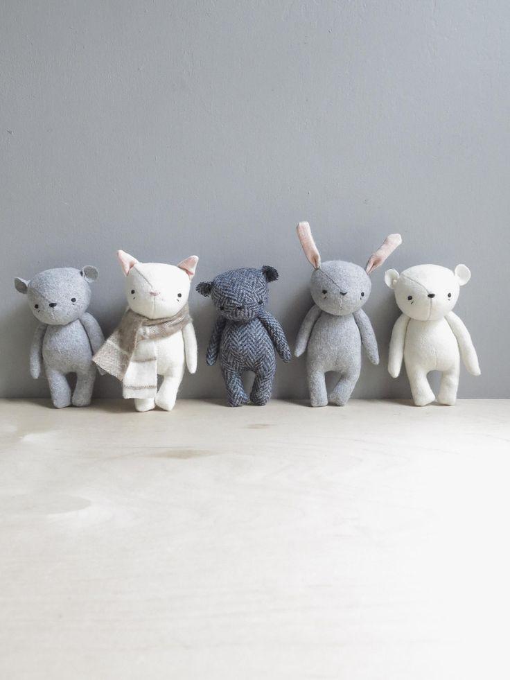 handmade softies by oh albatross...