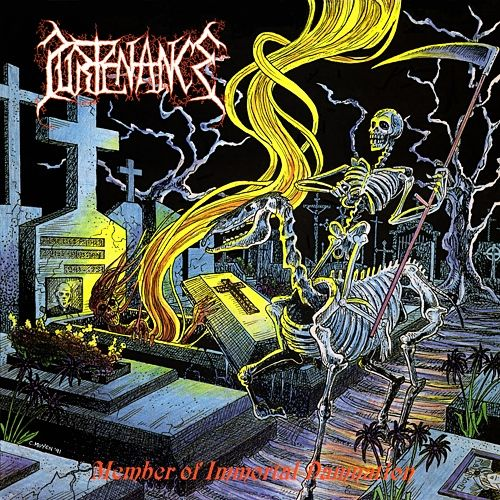 Member of Immortal Damnation, an Album by Purtenance. Released in 1992 on Drowned (catalog no. DC 011; CD). Genres: Death Metal.  Rated #655 in the best albums of 1992.