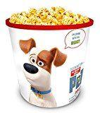 #9: Secret Life of Pets Movie Theater Exclusive 130 oz Plastic Popcorn Tub