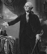 George Washington..1st President of US