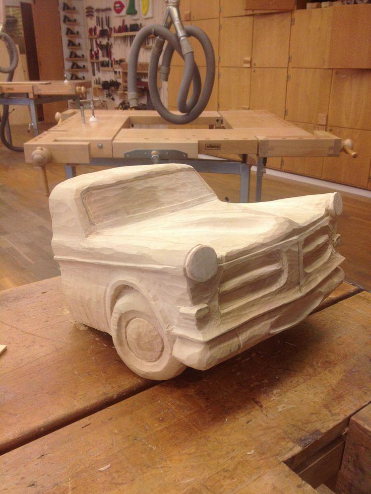Carved Volvo