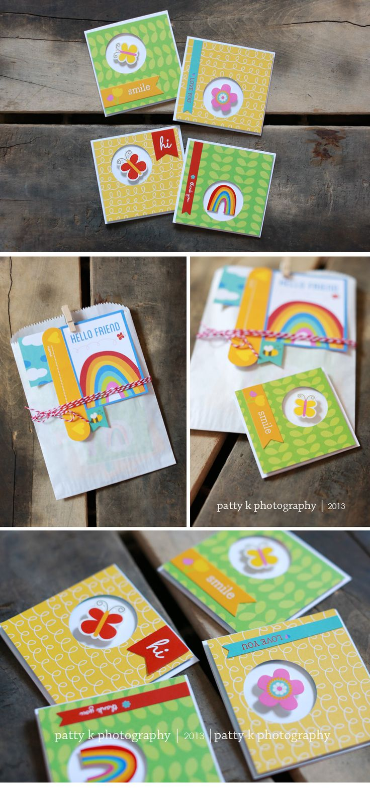 Mini Cards | Design | Pebbles Design Team | Patty K Photography & Design
