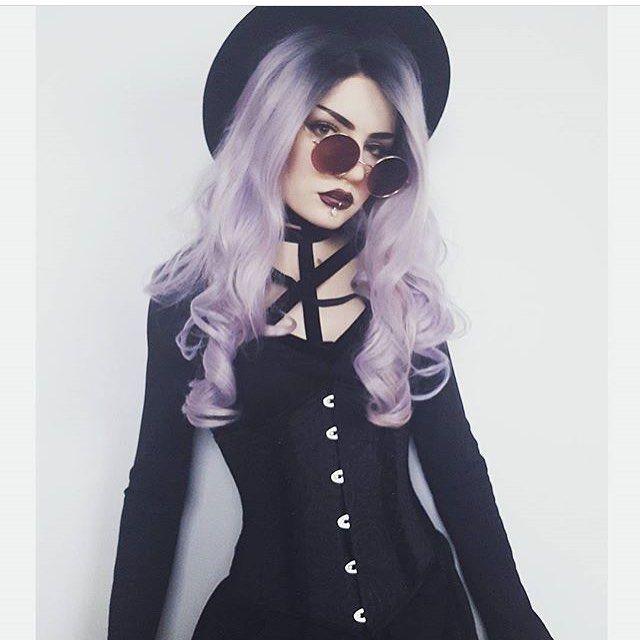 "Polubienia: 5, komentarze: 1 – rockmetalshop.pl (@rockmetalshop) na Instagramie: ""#Repost @lou.von.bright Corset from @rockmetalshop #outfit #dress #blackdress #harness #makeup…"""