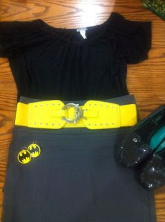 Work-Appropriate Batman Outfit
