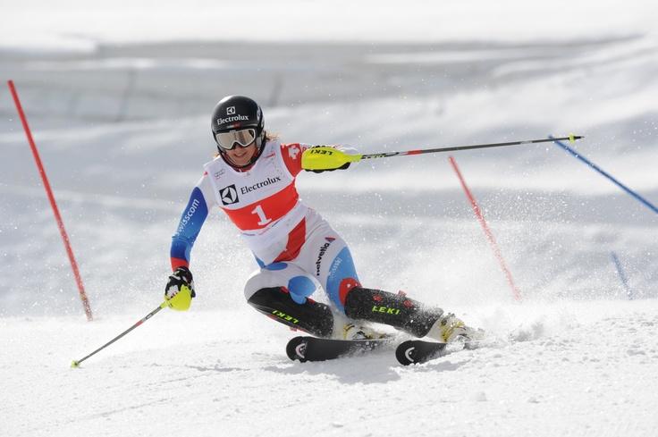 Wendy Holdener fährt in Schladming2013 am 14. im Riesenslalom und 16. Februar im Slalom.