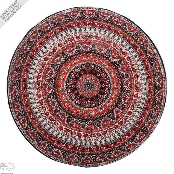 Indian Mandala Beach Cloth