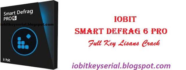 İobit Smart Defrag 6 Full Pro Key Serial Number Crack Licence Code