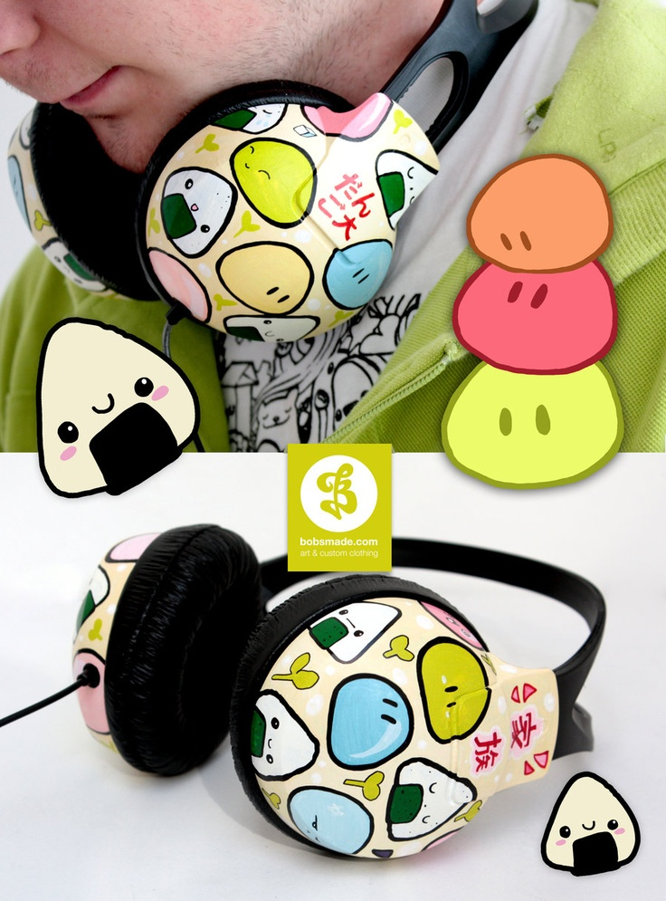 Dango Headphones?!?? These are the coolest things I have ever seen!!!! @.@