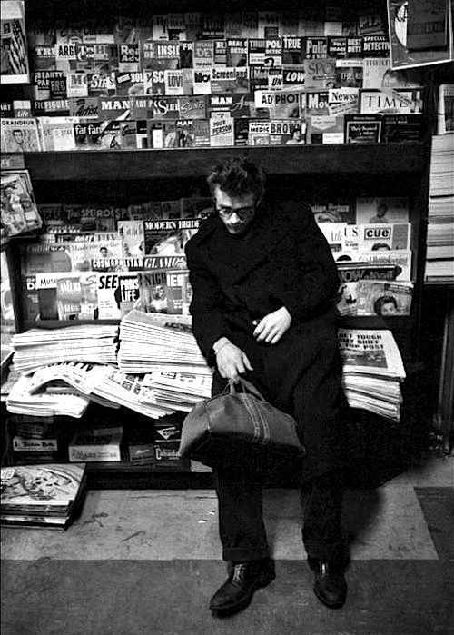 James Dean photographed by Dennis Stock