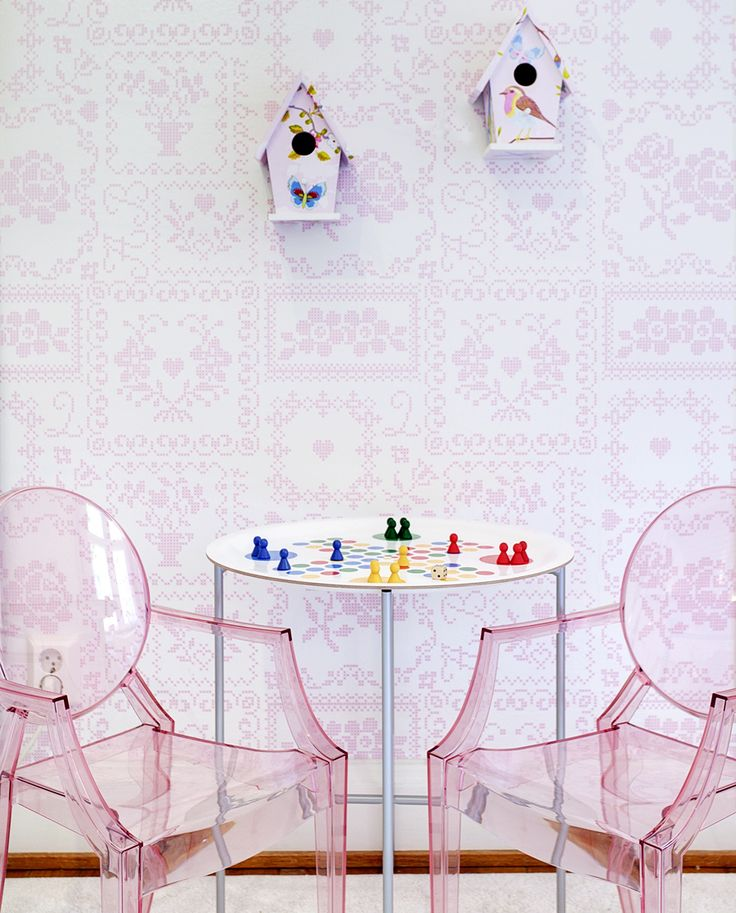 Pink: Decor, Pink Kids Rooms, Desks Chairs, Future, Pink Ghosts, Kids Domain, Ghosts Chairs, Chairs Ghosts, Ghost Chairs