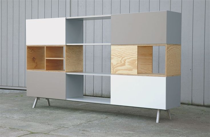 Maarten Van Severen Kast Unit for Vitra 2005 | From a unique collection of antique and modern shelves at http://www.1stdibs.com/furniture/storage-case-pieces/shelves/