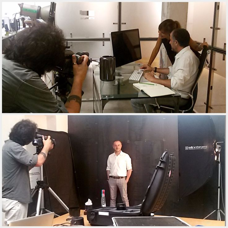 We set up a real photo shoot in the agency. Are you curious to know what we're up to? You'll find out soon! - #OsnBackstage