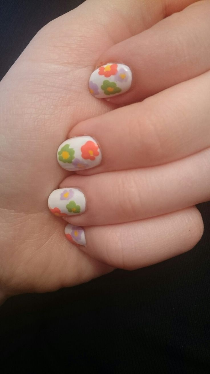 Spring came to my nails