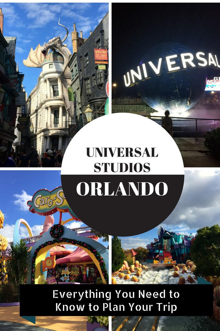 Everything you need to know to plan your trip to Universal Studios Orlando in Florida! I break down it down - ticket pricing, packages, hotels, and more - so you don't have to scour the web. It's all right here for your next trip or family vacation with the kids!