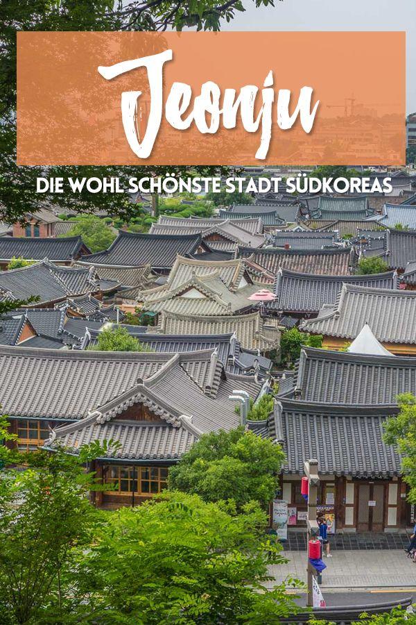 Jeonju - die wohl schönste Stadt Südkoreas