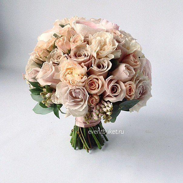 Свадебная флористика, букеты невесты Москва