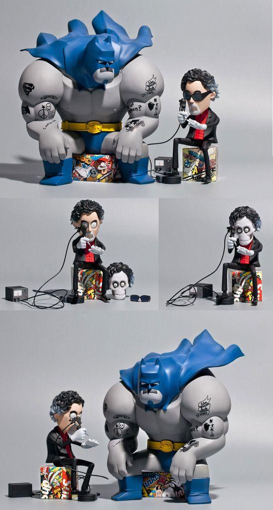 "Fools Paradises Batman Returns with I Won't Be A Hero Tim #2!""... REVEALED!!!"