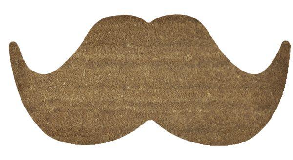 #Felpudo original Mostacho - #Felpudo original con forma de bigote. Fabricado en coco natural - #Felpudos originales - #Felpudos - UGO decoracion