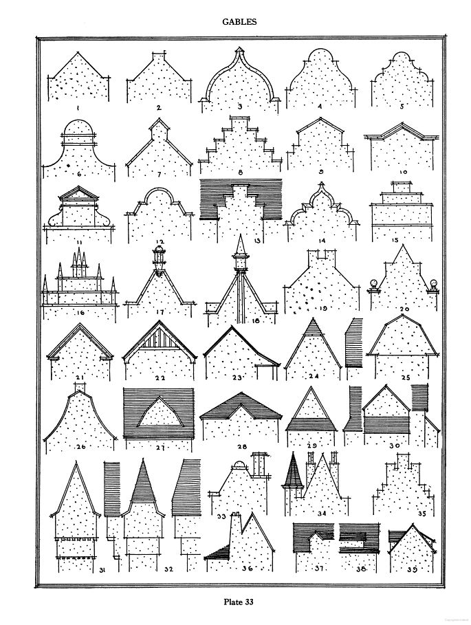 Pictorial Encyclopedia of Historic Architectural Plans