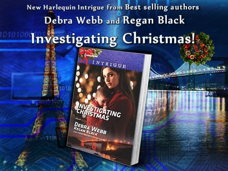 Its A Race Against Time In Debra Webb And Regan Blacks Newest Harlequin Intrigue Investigating Christmas Colby Agency Family Secrets