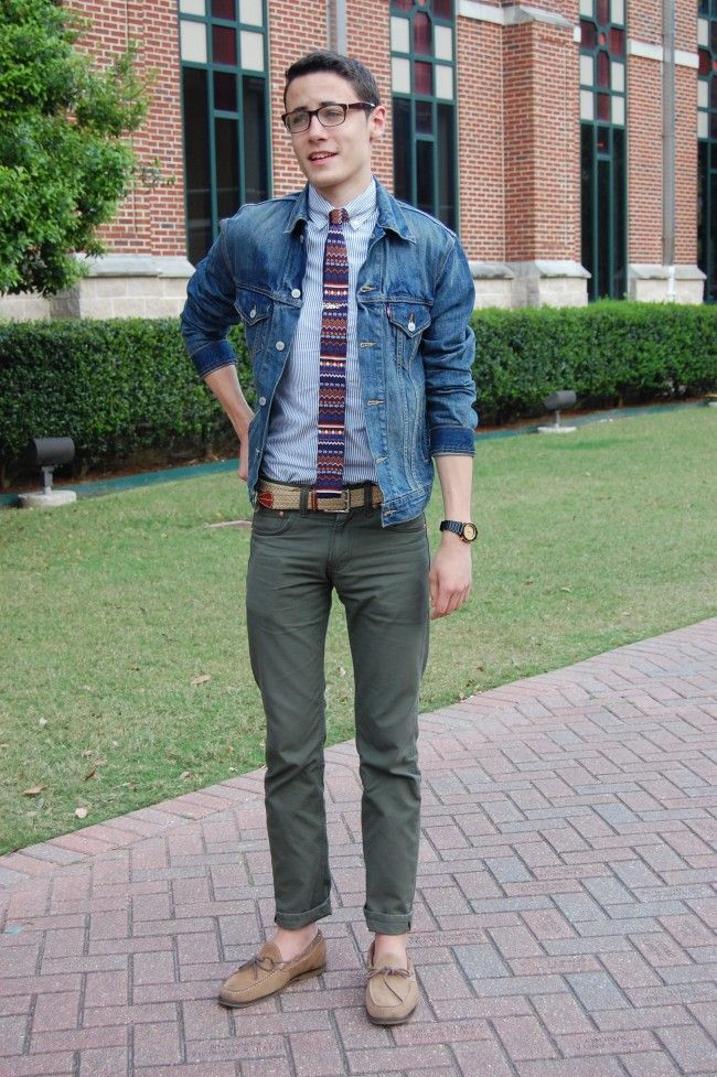 Marshall Mulherin modern prep style denim jacket submit trashness men  fashion summer