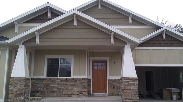 11 Best Images About Exterior Craftsman Home Ideas On