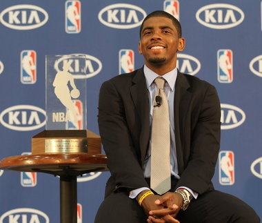 Kyrie Irving wins NBA Rookie of the Year.
