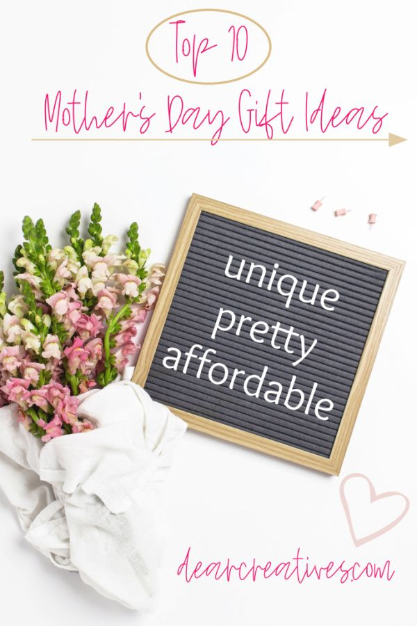 Top 10 Mother S Day Gift Ideas Dear Creatives Top Mother S Day