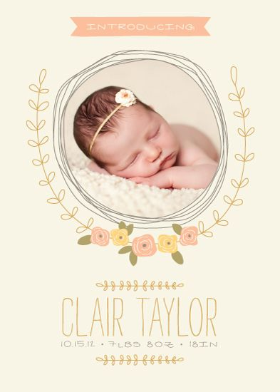 Hello Baby! Birth Announcement Special Prize Winners