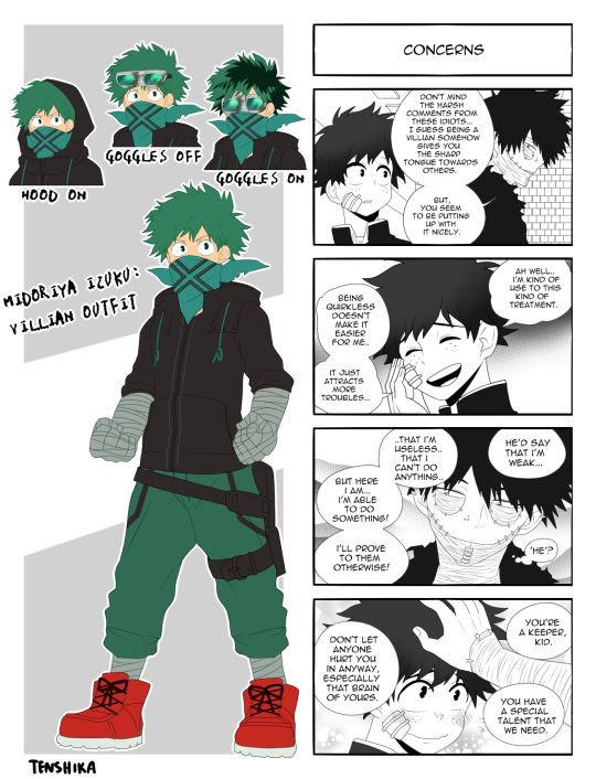 Villian Midoriya | Tumblr