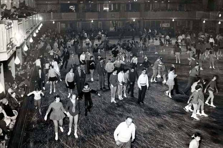 Silver Blades ice rink Liverpool UK 1960