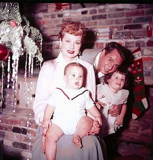 Lucy ,Desi and the kids ,Christmas 1953
