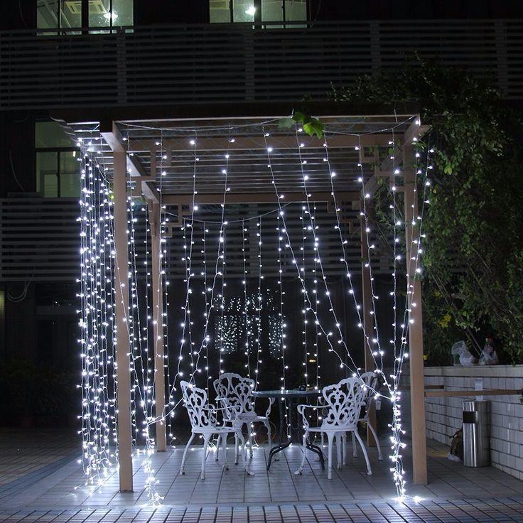 Outdoor Party Lights Ikea: Best 25+ Curtain Lights Ideas On Pinterest