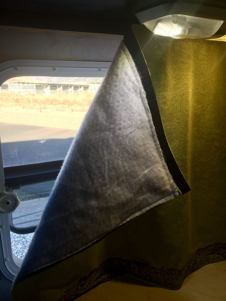RV Window Coverings for Temperature Control  Camping