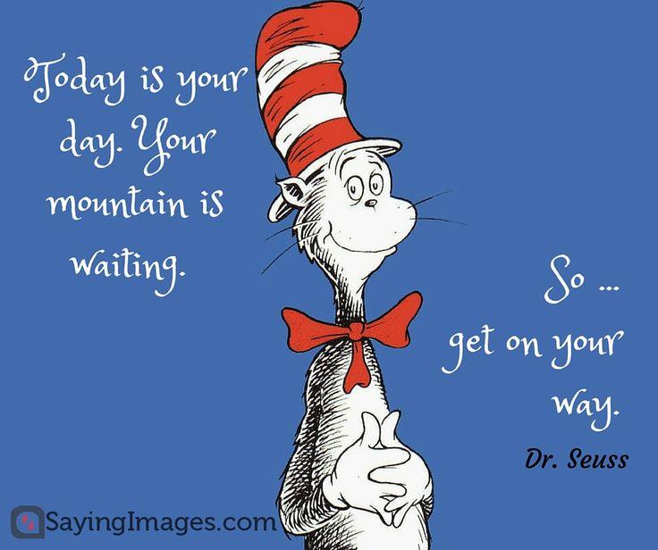 40 Favorite Dr. Seuss Quotes To Make You Smile #sayingimages #drseuss #quotes