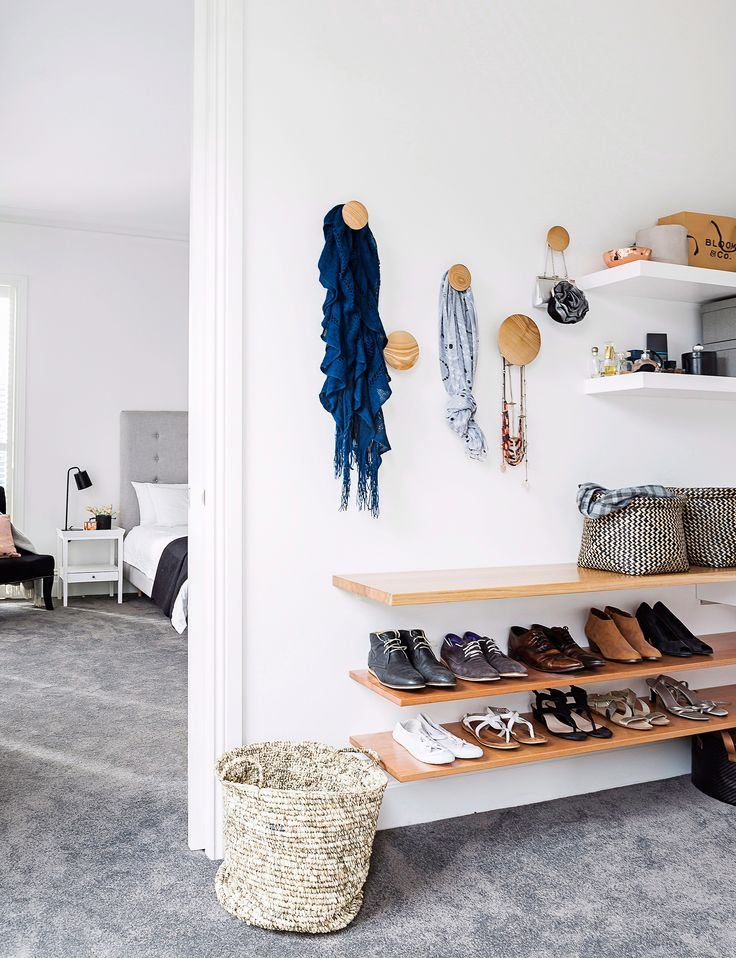 Clear the clutter with these wall hooks and ladders - Homes To Love
