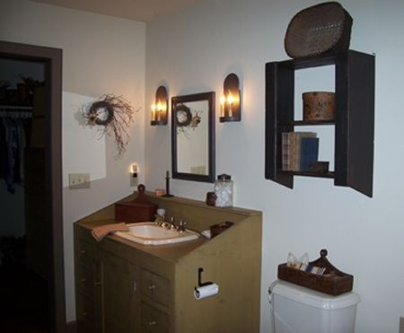 30 Best Images About Primitive Bathrooms On Pinterest